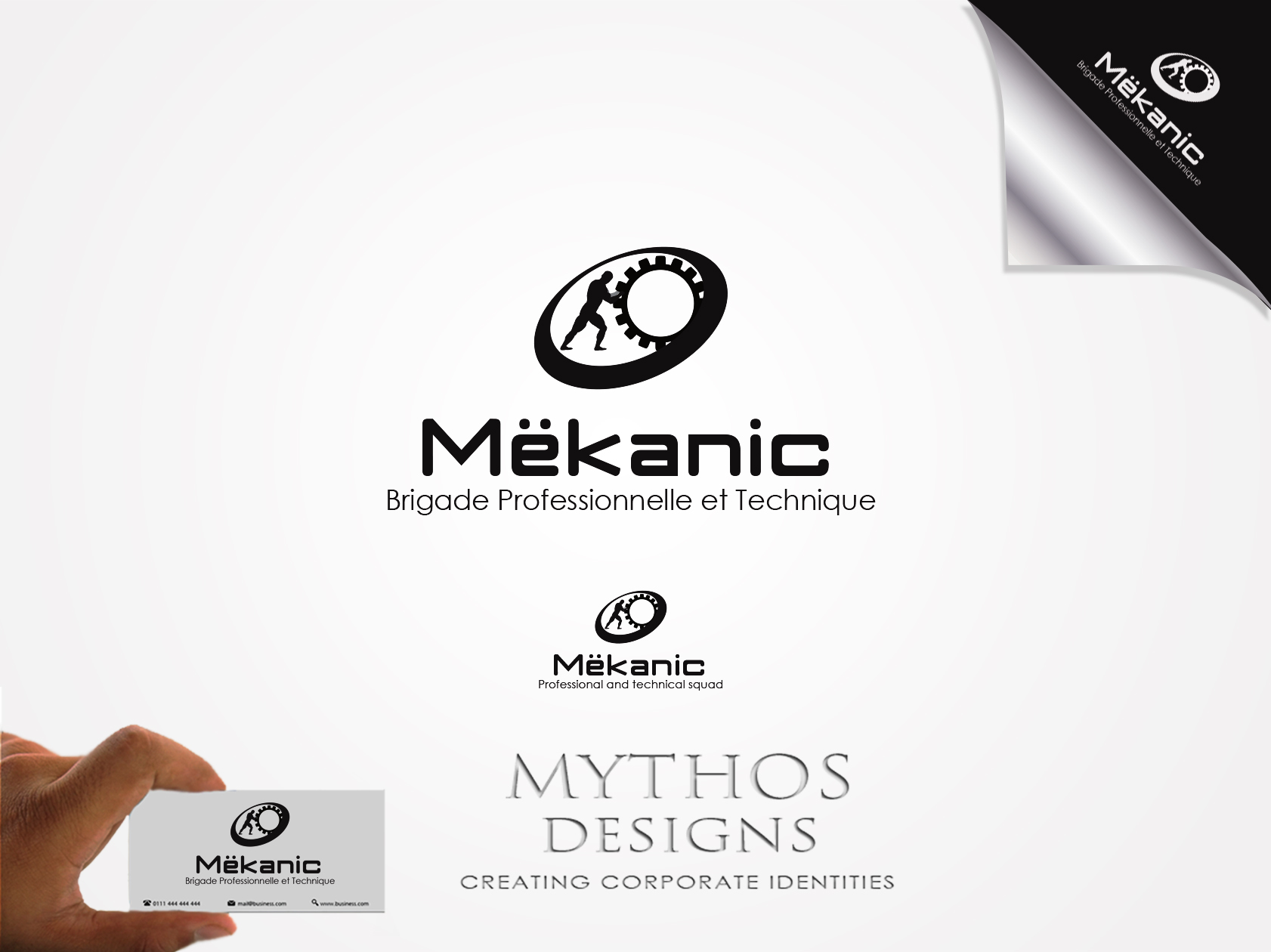 Logo Design by Mythos Designs - Entry No. 62 in the Logo Design Contest Creative Logo Design for MËKANIC - Professional and technical squad.
