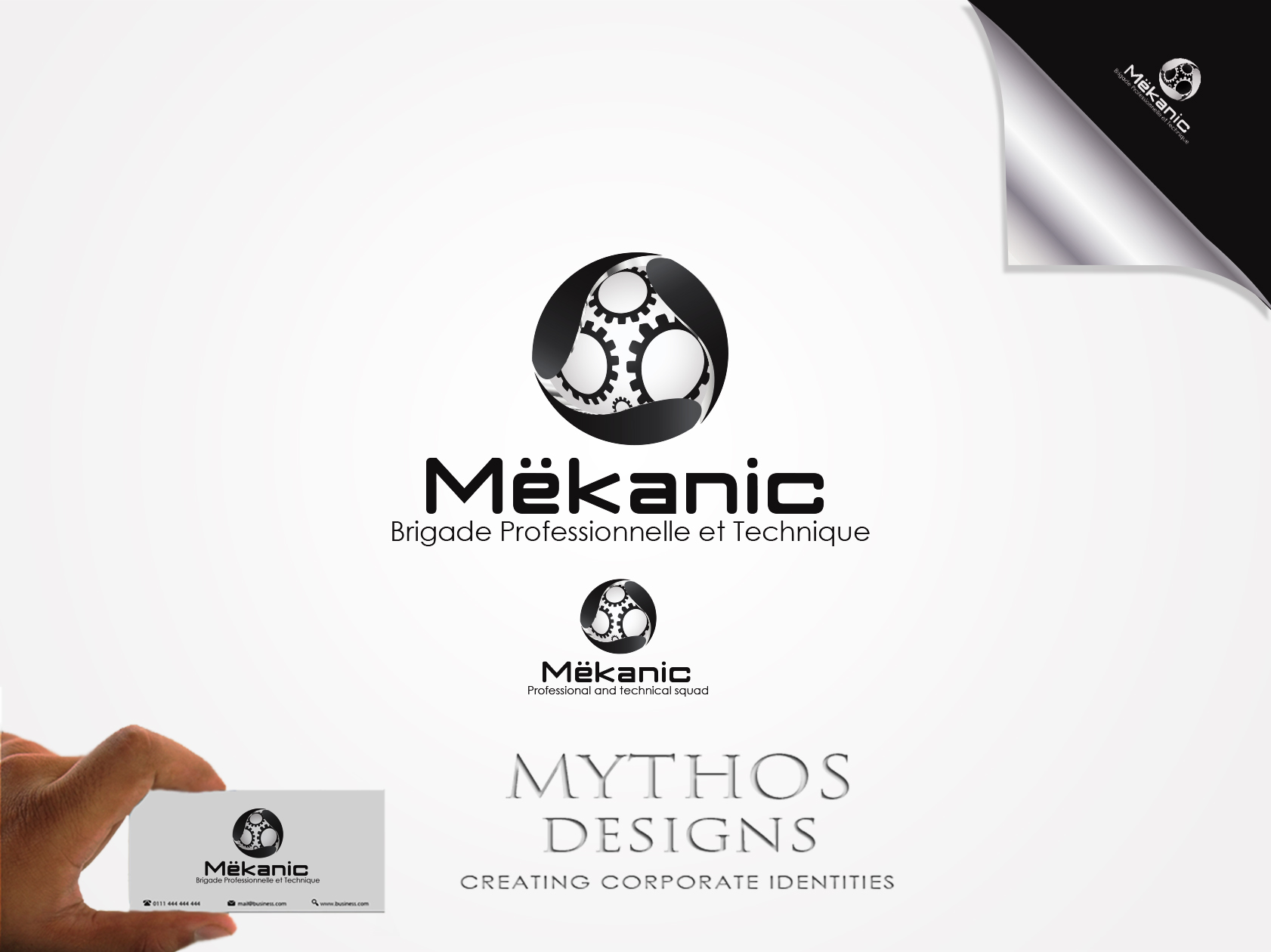 Logo Design by Mythos Designs - Entry No. 64 in the Logo Design Contest Creative Logo Design for MËKANIC - Professional and technical squad.