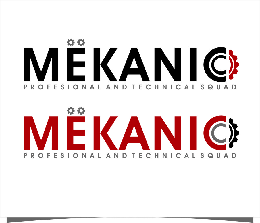 Logo Design by Ngepet_art - Entry No. 66 in the Logo Design Contest Creative Logo Design for MËKANIC - Professional and technical squad.