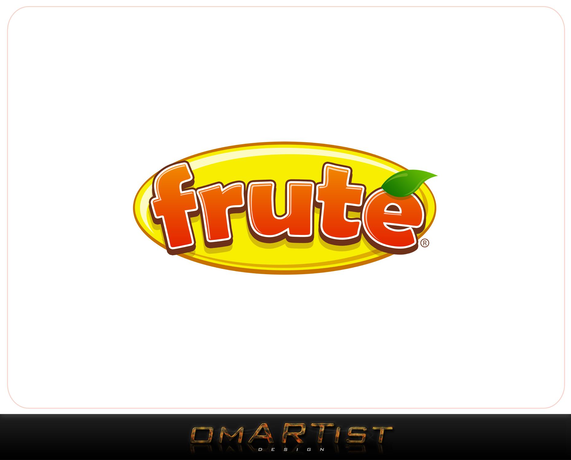 Logo Design by omARTist - Entry No. 150 in the Logo Design Contest Imaginative Logo Design for Fruté.