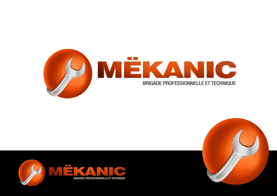 Logo Design by Respati Himawan - Entry No. 67 in the Logo Design Contest Creative Logo Design for MËKANIC - Professional and technical squad.