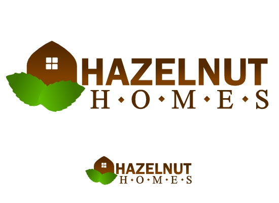 Logo Design by Ismail Adhi Wibowo - Entry No. 23 in the Logo Design Contest Unique Logo Design Wanted for Hazelnut Homes.