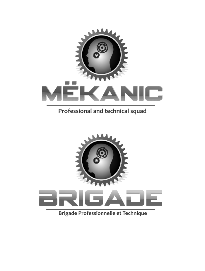 Logo Design by Private User - Entry No. 68 in the Logo Design Contest Creative Logo Design for MËKANIC - Professional and technical squad.