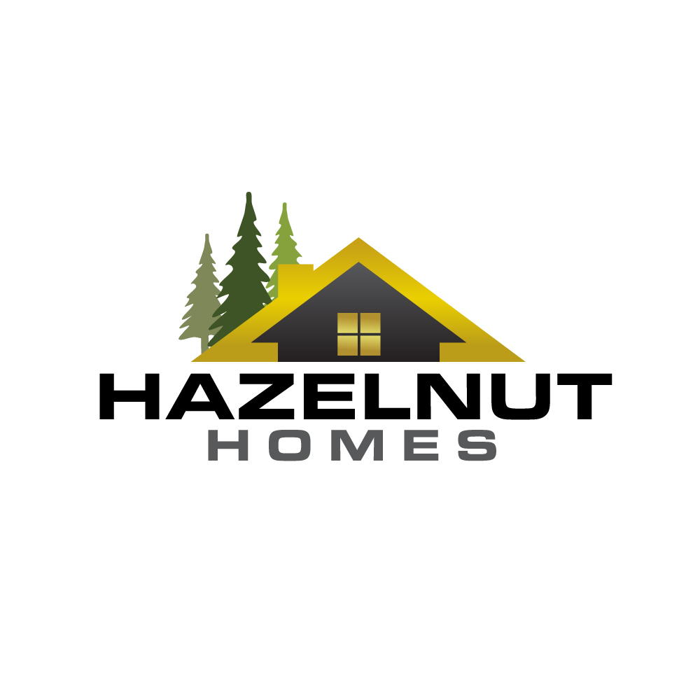 Logo Design by rockin - Entry No. 24 in the Logo Design Contest Unique Logo Design Wanted for Hazelnut Homes.