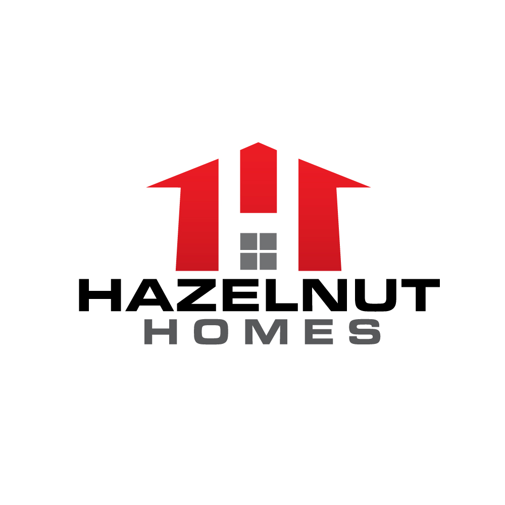 Logo Design by rockin - Entry No. 25 in the Logo Design Contest Unique Logo Design Wanted for Hazelnut Homes.