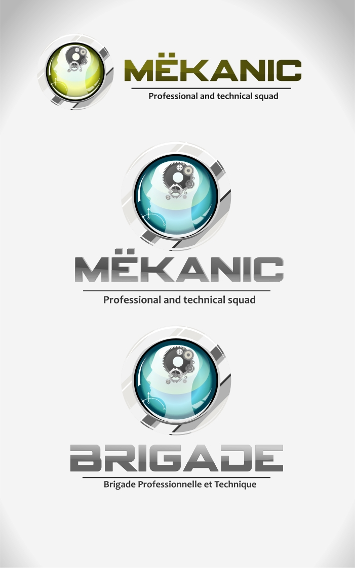 Logo Design by Private User - Entry No. 69 in the Logo Design Contest Creative Logo Design for MËKANIC - Professional and technical squad.