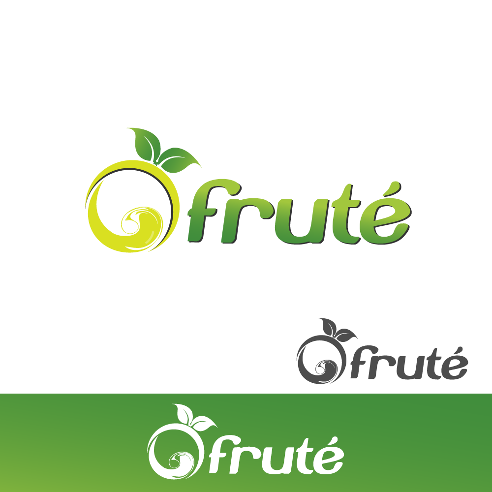 Logo Design by rockin - Entry No. 151 in the Logo Design Contest Imaginative Logo Design for Fruté.