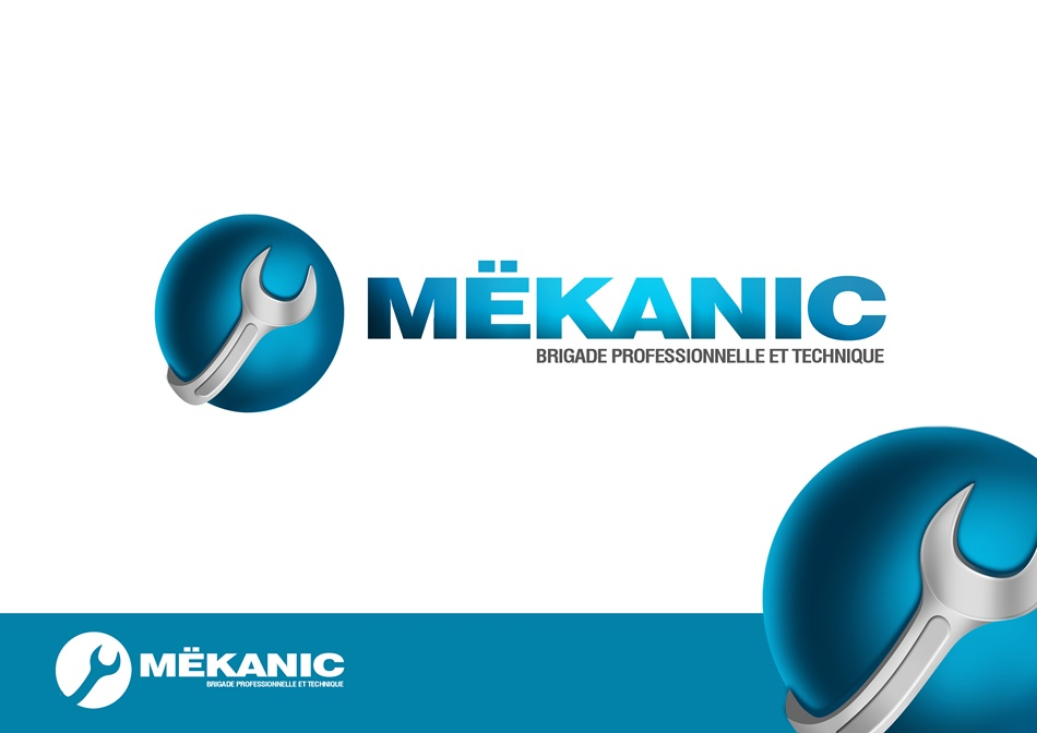 Logo Design by Respati Himawan - Entry No. 75 in the Logo Design Contest Creative Logo Design for MËKANIC - Professional and technical squad.