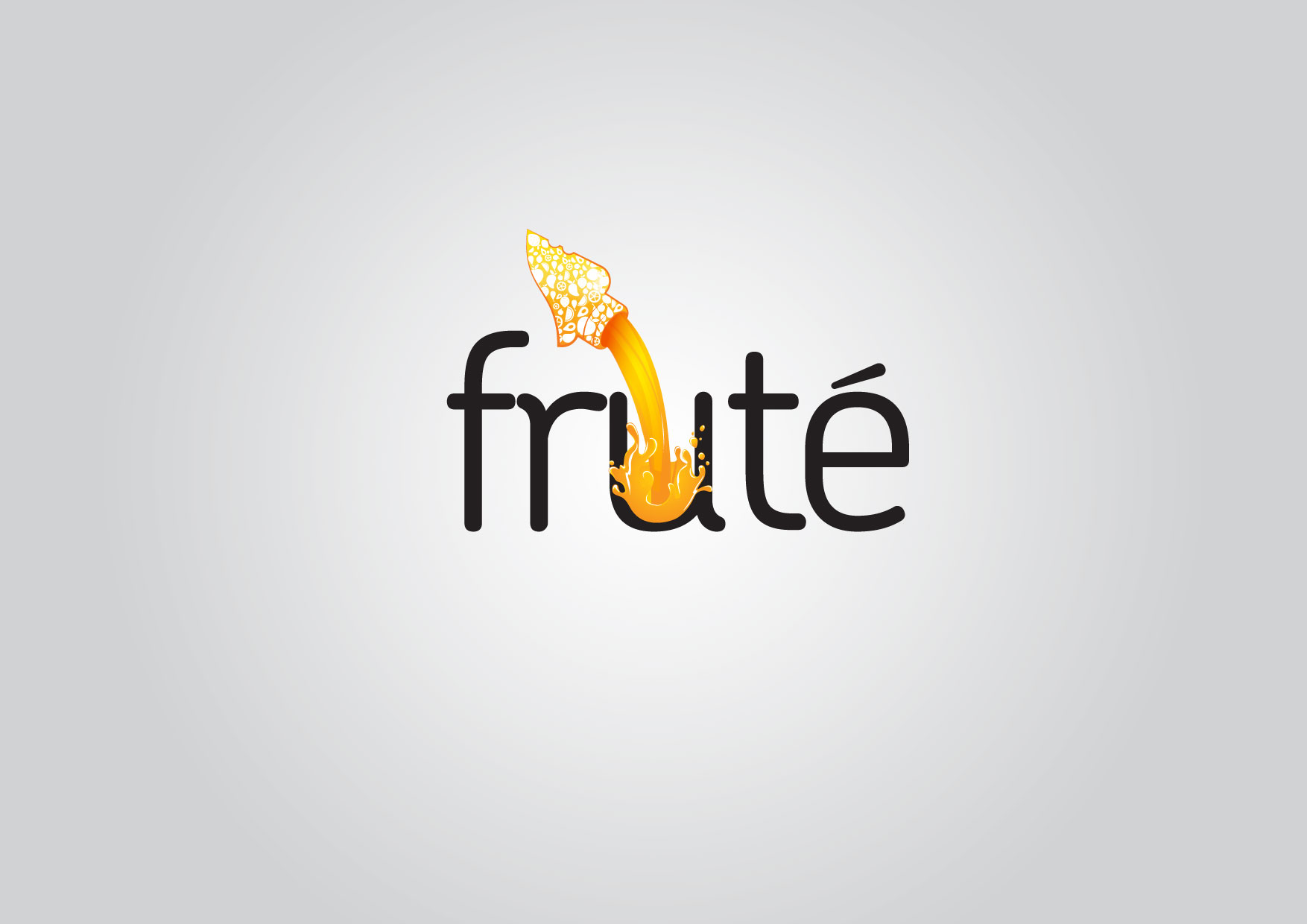 Logo Design by Dit L Pambudi - Entry No. 152 in the Logo Design Contest Imaginative Logo Design for Fruté.