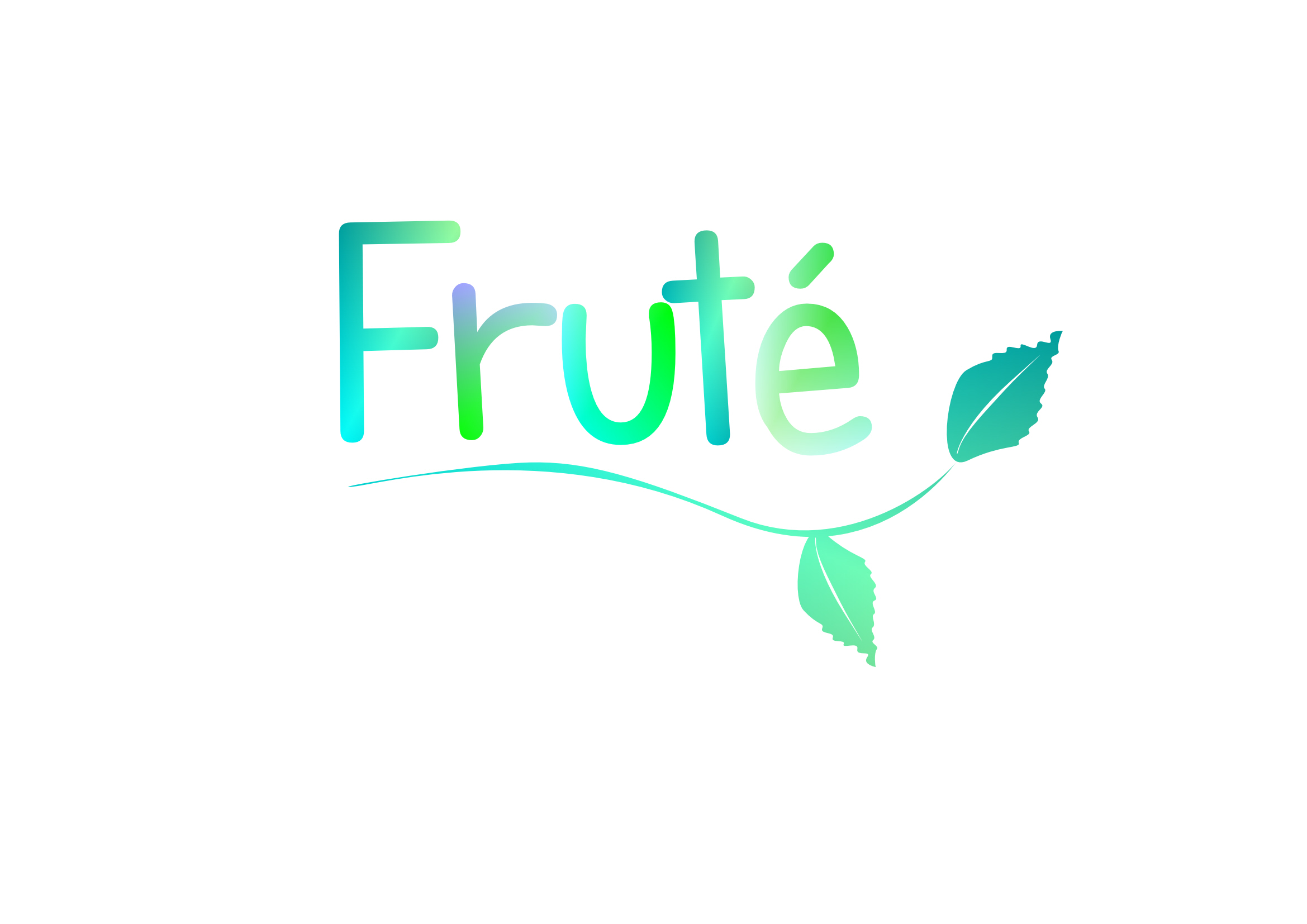 Logo Design by Heri Susanto - Entry No. 154 in the Logo Design Contest Imaginative Logo Design for Fruté.