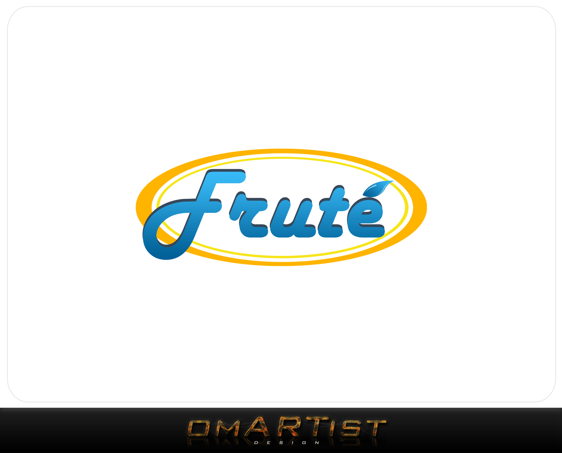 Logo Design by omARTist - Entry No. 156 in the Logo Design Contest Imaginative Logo Design for Fruté.