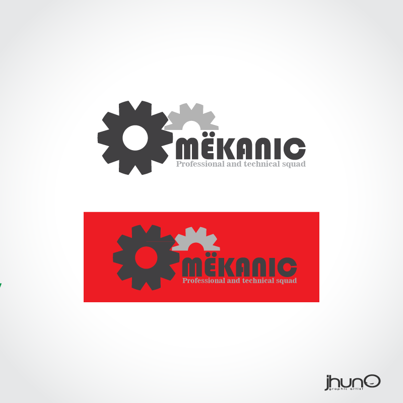 Logo Design by zesthar - Entry No. 77 in the Logo Design Contest Creative Logo Design for MËKANIC - Professional and technical squad.