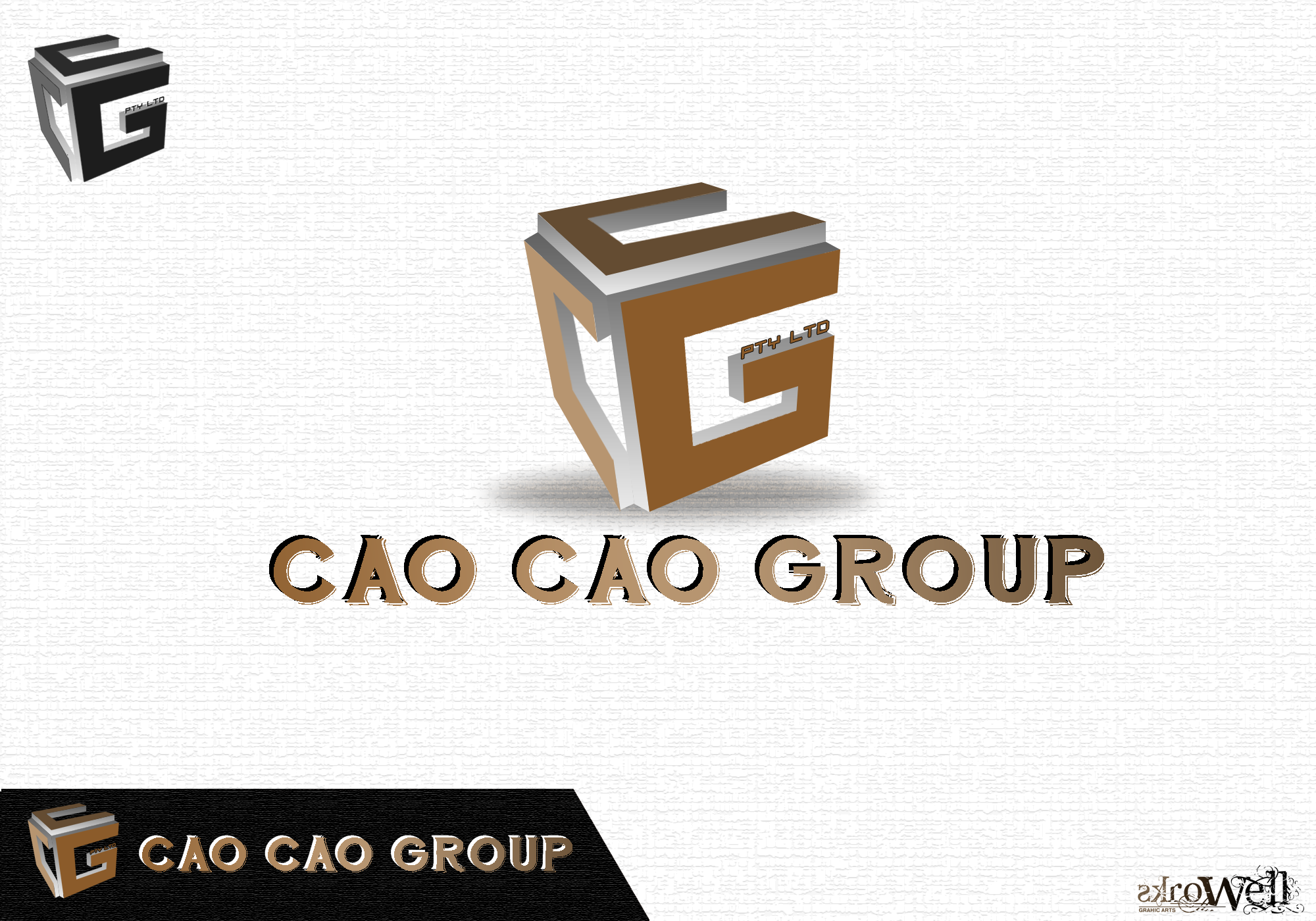Logo Design by Rowell - Entry No. 65 in the Logo Design Contest cao cao group pty ltd Logo Design.