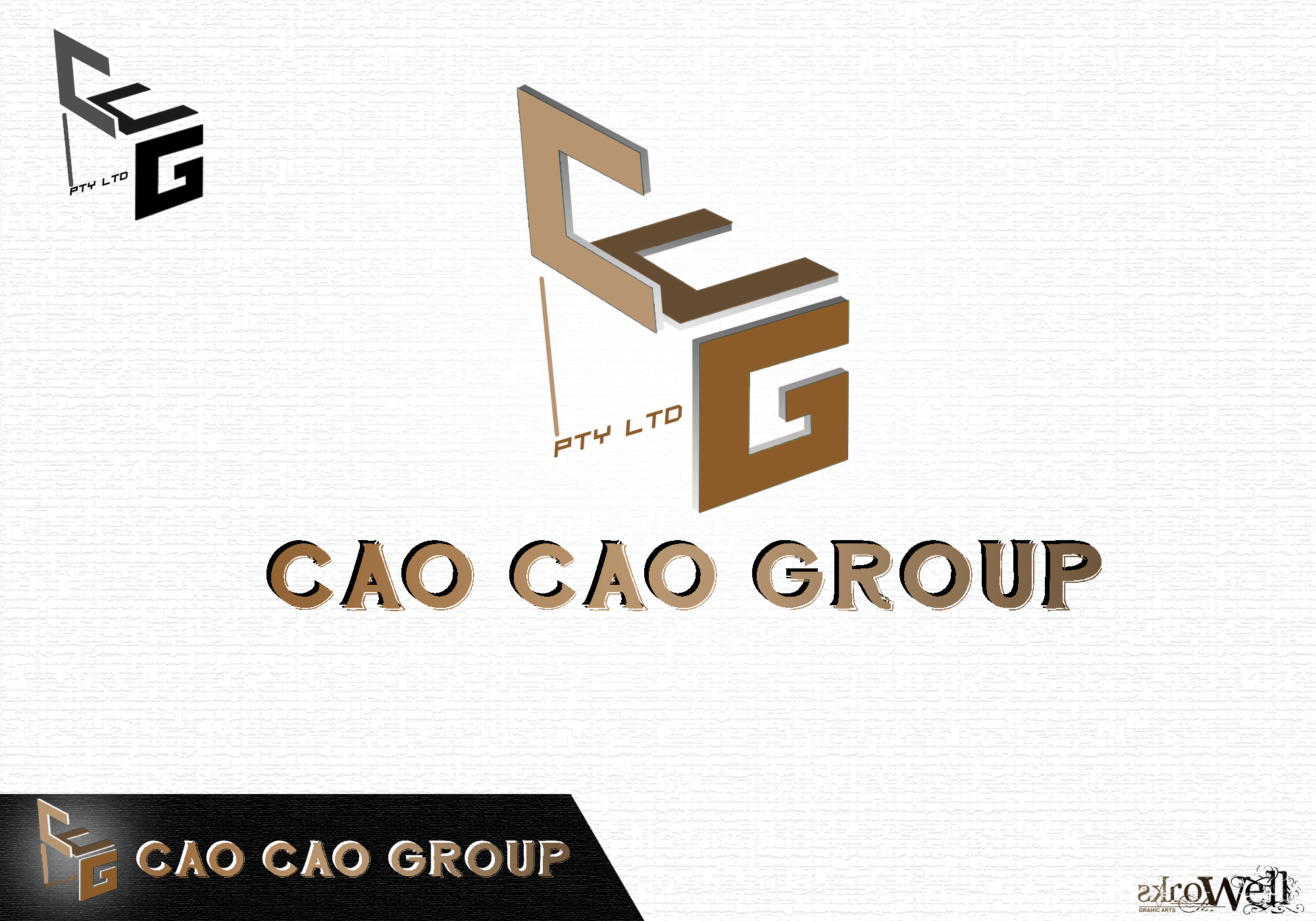 Logo Design by Rowell - Entry No. 66 in the Logo Design Contest cao cao group pty ltd Logo Design.