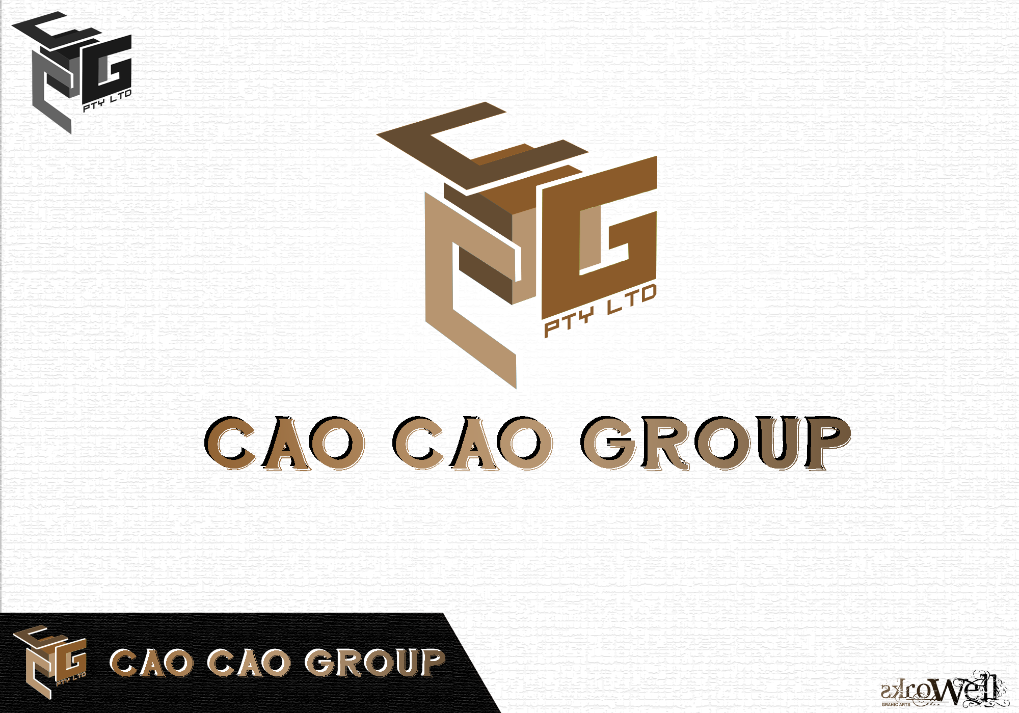 Logo Design by Rowell - Entry No. 68 in the Logo Design Contest cao cao group pty ltd Logo Design.