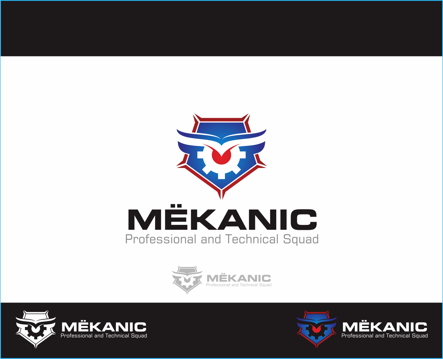 Logo Design by Armada Jamaluddin - Entry No. 81 in the Logo Design Contest Creative Logo Design for MËKANIC - Professional and technical squad.