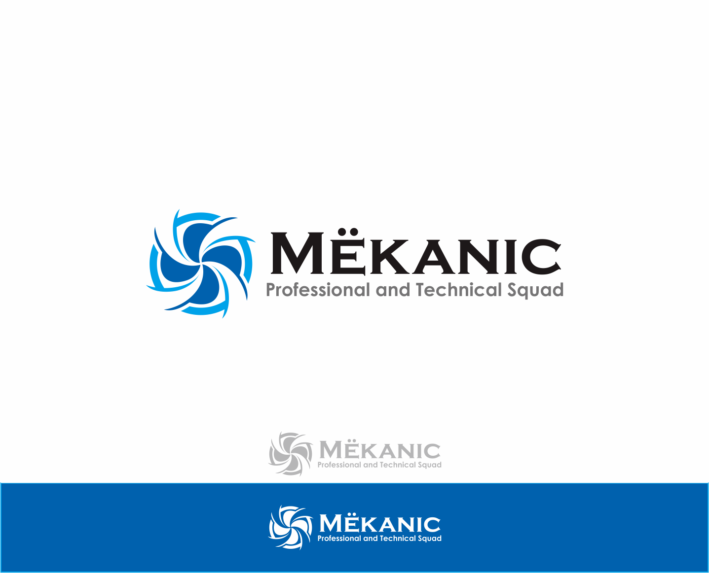 Logo Design by Armada Jamaluddin - Entry No. 82 in the Logo Design Contest Creative Logo Design for MËKANIC - Professional and technical squad.