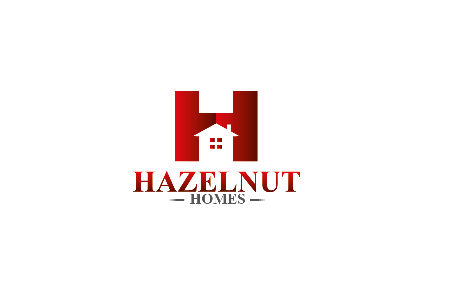 Logo Design by Private User - Entry No. 36 in the Logo Design Contest Unique Logo Design Wanted for Hazelnut Homes.