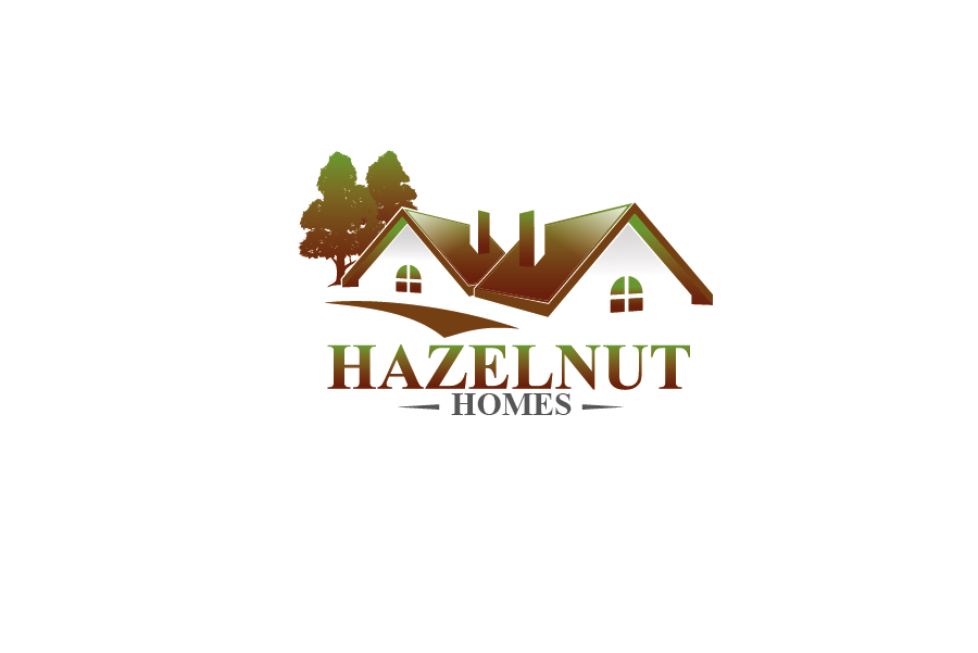 Logo Design by Private User - Entry No. 37 in the Logo Design Contest Unique Logo Design Wanted for Hazelnut Homes.