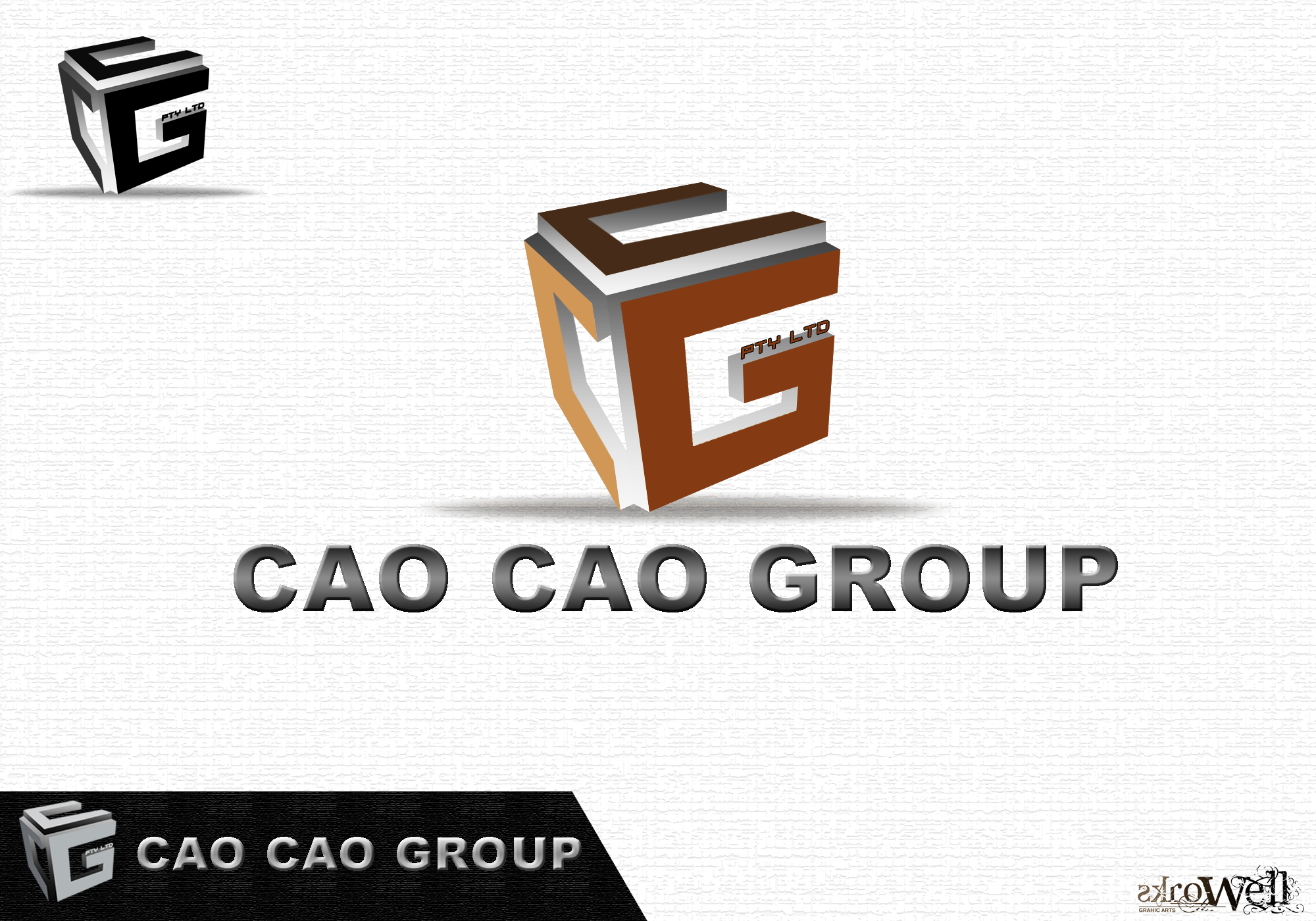 Logo Design by Rowell - Entry No. 86 in the Logo Design Contest cao cao group pty ltd Logo Design.