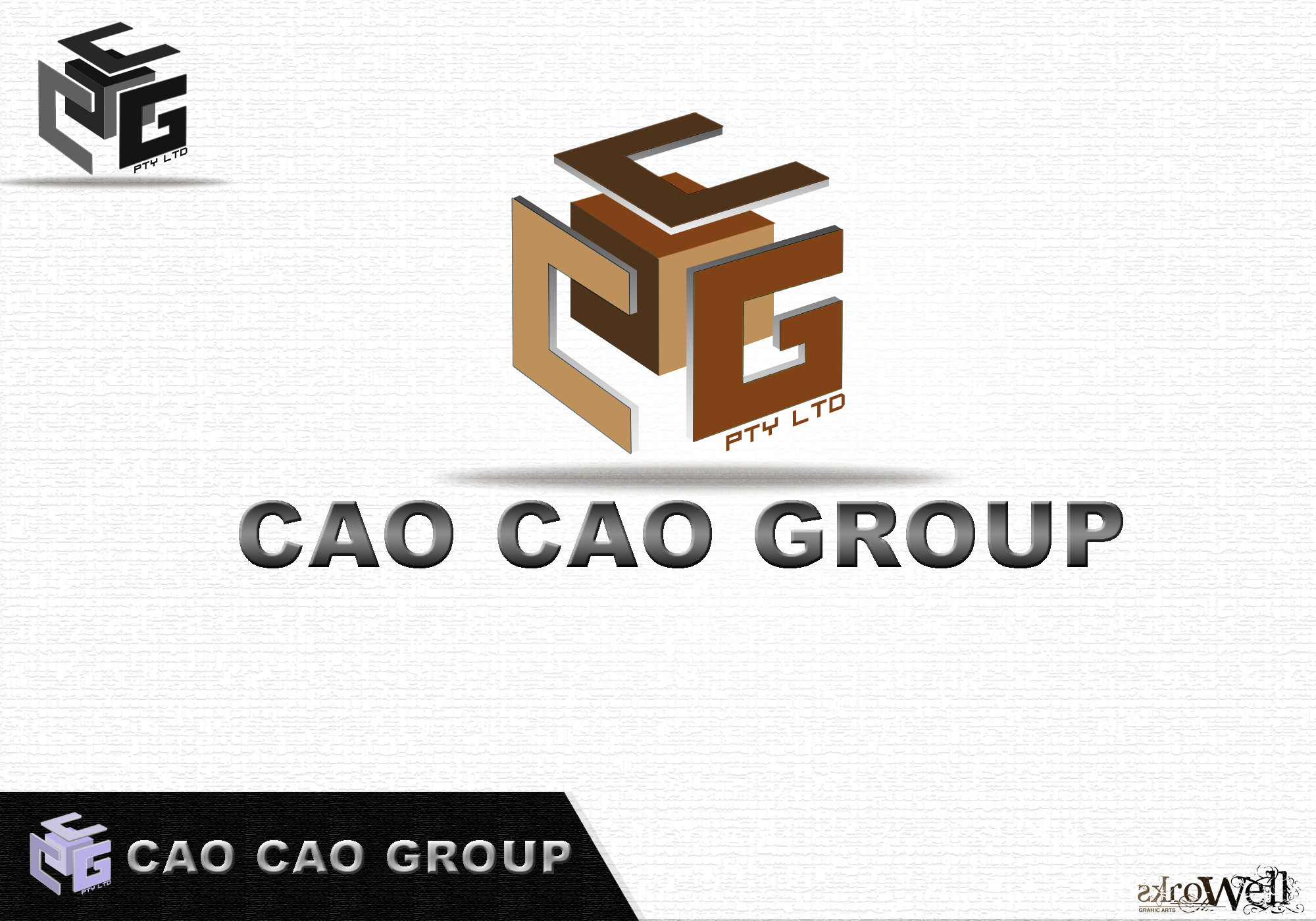 Logo Design by Rowell - Entry No. 87 in the Logo Design Contest cao cao group pty ltd Logo Design.