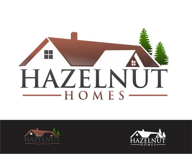 Logo Design by ronny - Entry No. 39 in the Logo Design Contest Unique Logo Design Wanted for Hazelnut Homes.
