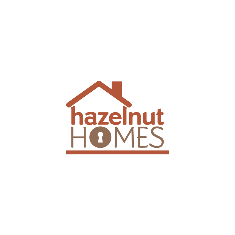 Logo Design by kianoke - Entry No. 40 in the Logo Design Contest Unique Logo Design Wanted for Hazelnut Homes.