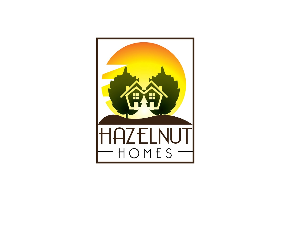 Logo Design by jhunzkie24 - Entry No. 41 in the Logo Design Contest Unique Logo Design Wanted for Hazelnut Homes.
