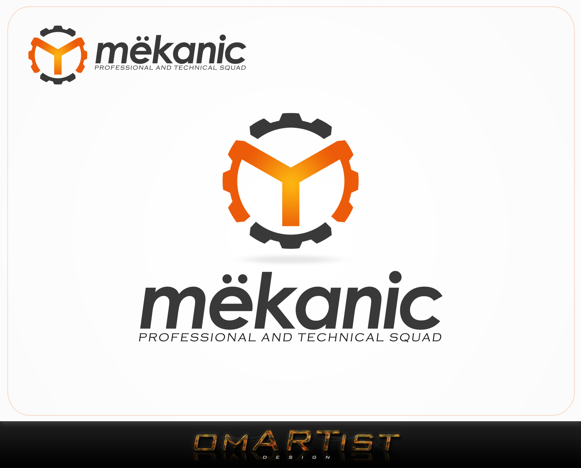 Logo Design by omARTist - Entry No. 88 in the Logo Design Contest Creative Logo Design for MËKANIC - Professional and technical squad.