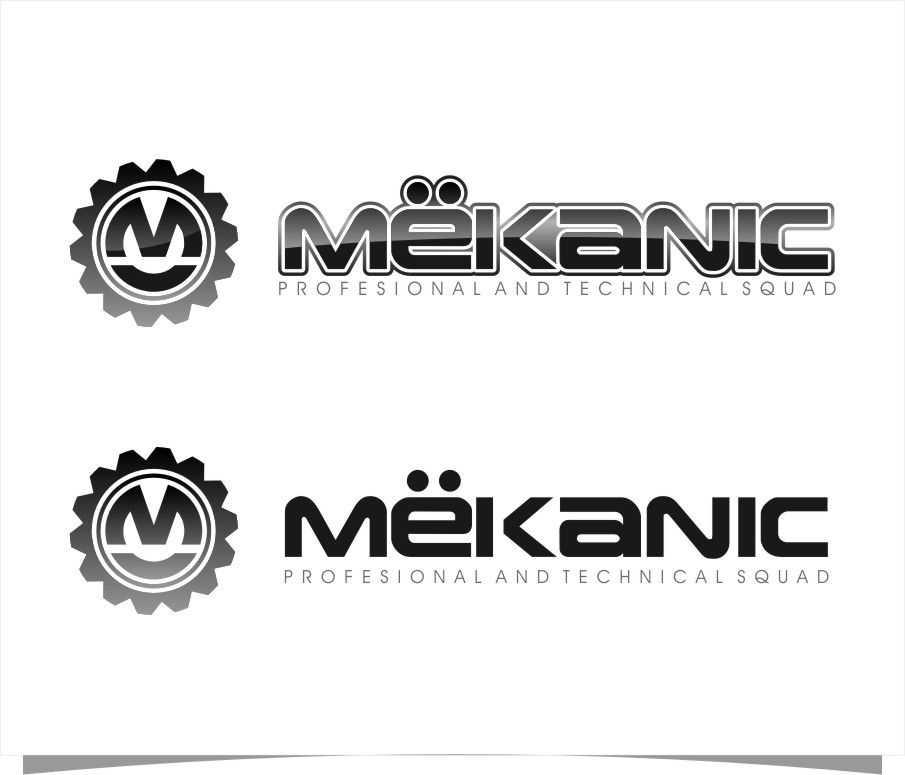 Logo Design by Ngepet_art - Entry No. 89 in the Logo Design Contest Creative Logo Design for MËKANIC - Professional and technical squad.