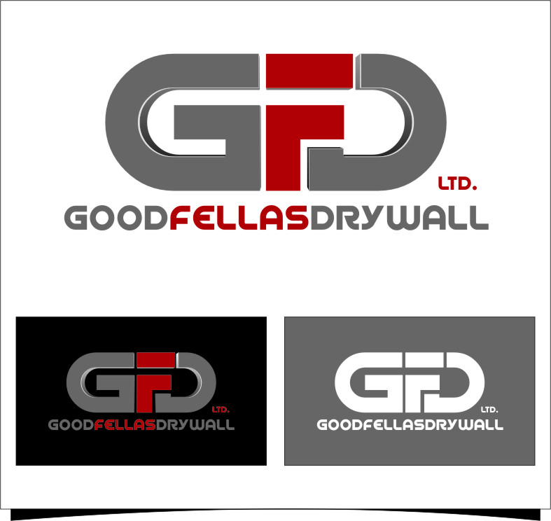 Logo Design by Ngepet_art - Entry No. 173 in the Logo Design Contest Creative Logo Design for Goodfellas Drywall.