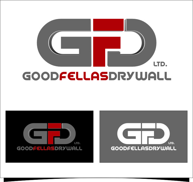 Logo Design by Ngepet_art - Entry No. 174 in the Logo Design Contest Creative Logo Design for Goodfellas Drywall.