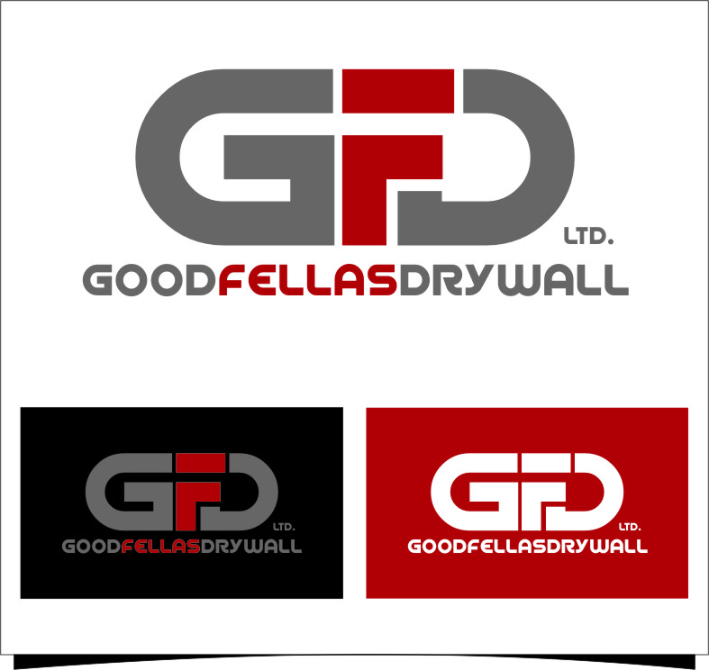 Logo Design by Ngepet_art - Entry No. 175 in the Logo Design Contest Creative Logo Design for Goodfellas Drywall.