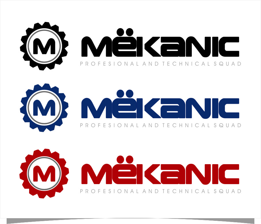 Logo Design by RasYa Muhammad Athaya - Entry No. 91 in the Logo Design Contest Creative Logo Design for MËKANIC - Professional and technical squad.