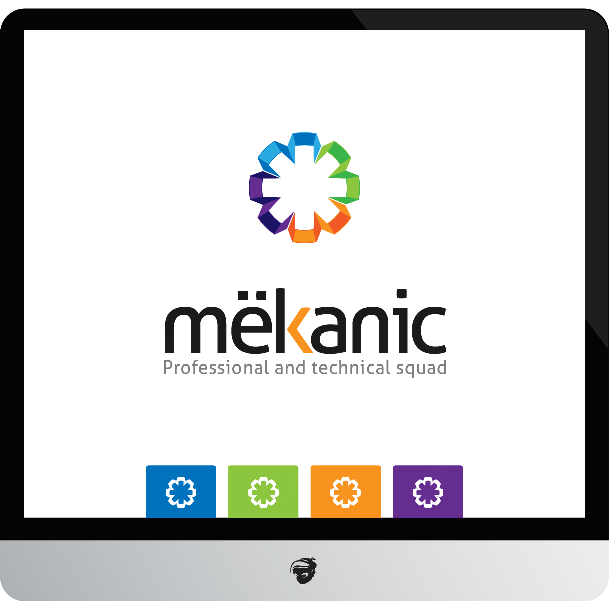Logo Design by zesthar - Entry No. 93 in the Logo Design Contest Creative Logo Design for MËKANIC - Professional and technical squad.