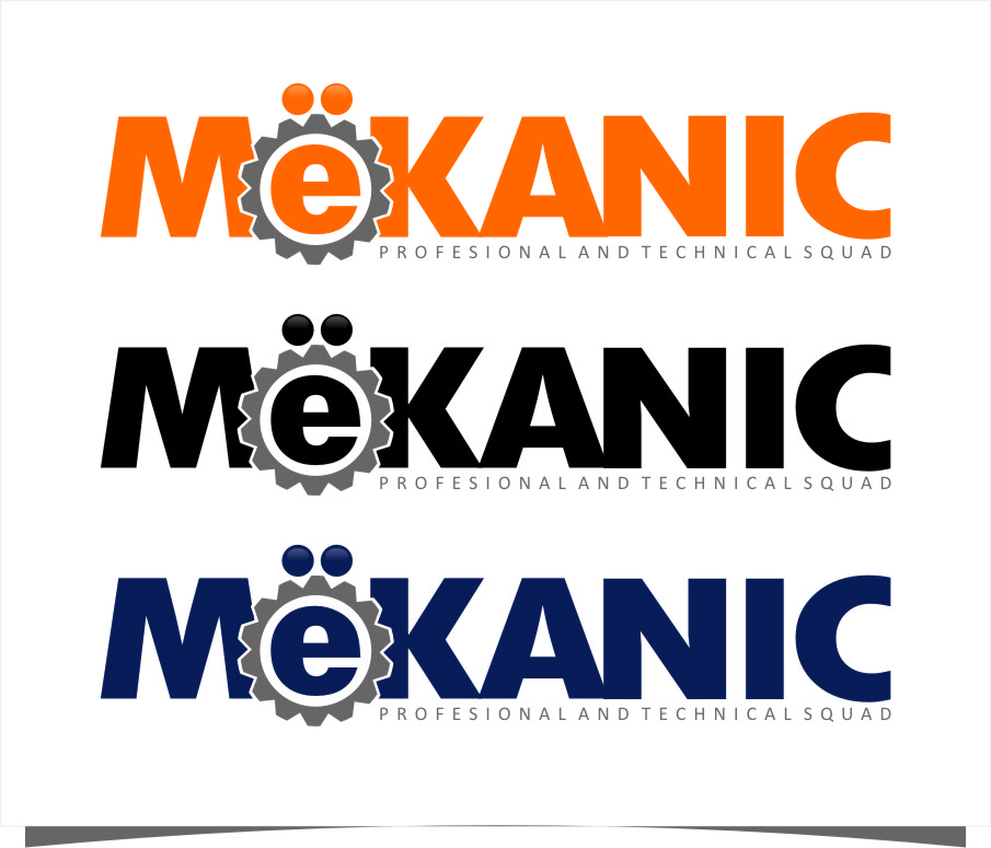 Logo Design by RasYa Muhammad Athaya - Entry No. 94 in the Logo Design Contest Creative Logo Design for MËKANIC - Professional and technical squad.
