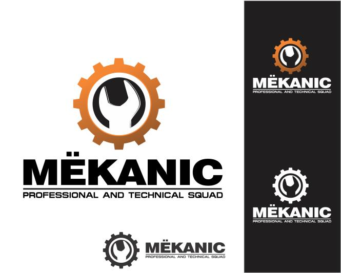 Logo Design by ronny - Entry No. 95 in the Logo Design Contest Creative Logo Design for MËKANIC - Professional and technical squad.