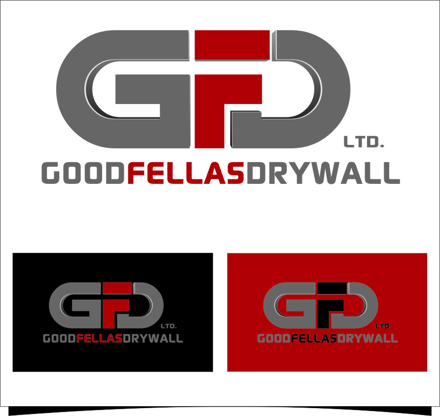 Logo Design by RasYa Muhammad Athaya - Entry No. 176 in the Logo Design Contest Creative Logo Design for Goodfellas Drywall.