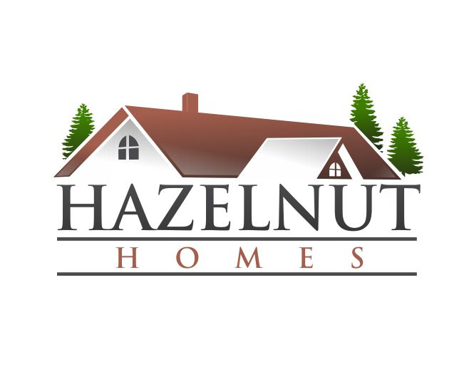 Logo Design by ronny - Entry No. 45 in the Logo Design Contest Unique Logo Design Wanted for Hazelnut Homes.