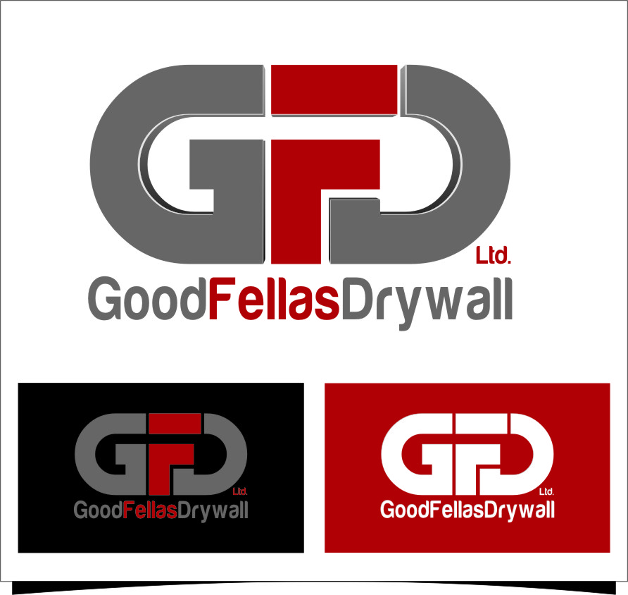 Logo Design by Ngepet_art - Entry No. 177 in the Logo Design Contest Creative Logo Design for Goodfellas Drywall.
