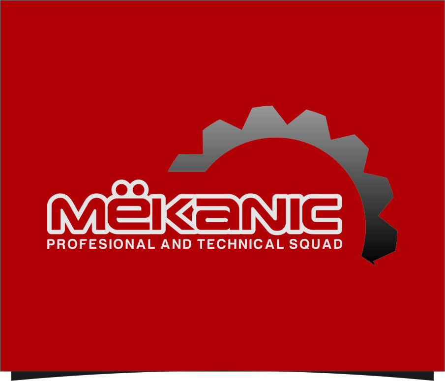 Logo Design by Ngepet_art - Entry No. 100 in the Logo Design Contest Creative Logo Design for MËKANIC - Professional and technical squad.