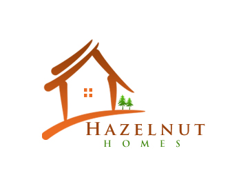 Logo Design by Crystal Desizns - Entry No. 46 in the Logo Design Contest Unique Logo Design Wanted for Hazelnut Homes.