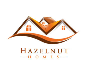 Logo Design by Crystal Desizns - Entry No. 47 in the Logo Design Contest Unique Logo Design Wanted for Hazelnut Homes.