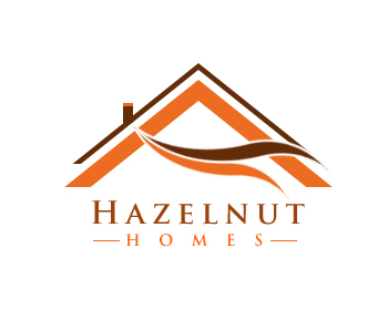 Logo Design by Crystal Desizns - Entry No. 48 in the Logo Design Contest Unique Logo Design Wanted for Hazelnut Homes.