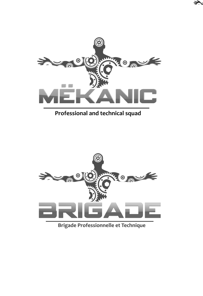 Logo Design by Private User - Entry No. 107 in the Logo Design Contest Creative Logo Design for MËKANIC - Professional and technical squad.