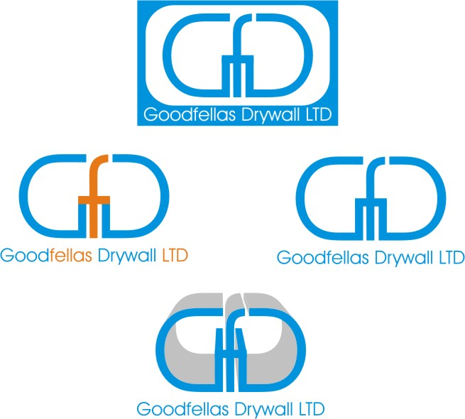Logo Design by Korsunov Oleg - Entry No. 179 in the Logo Design Contest Creative Logo Design for Goodfellas Drywall.