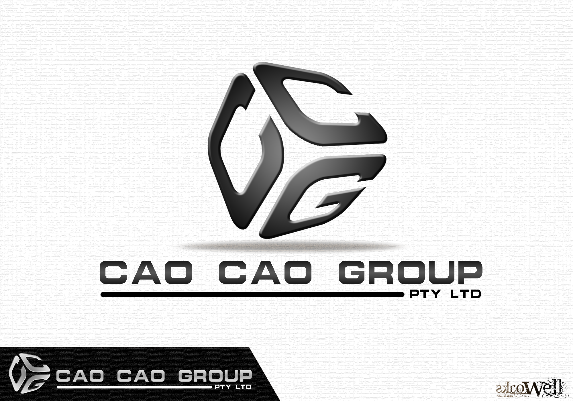Logo Design by Rowell - Entry No. 112 in the Logo Design Contest cao cao group pty ltd Logo Design.