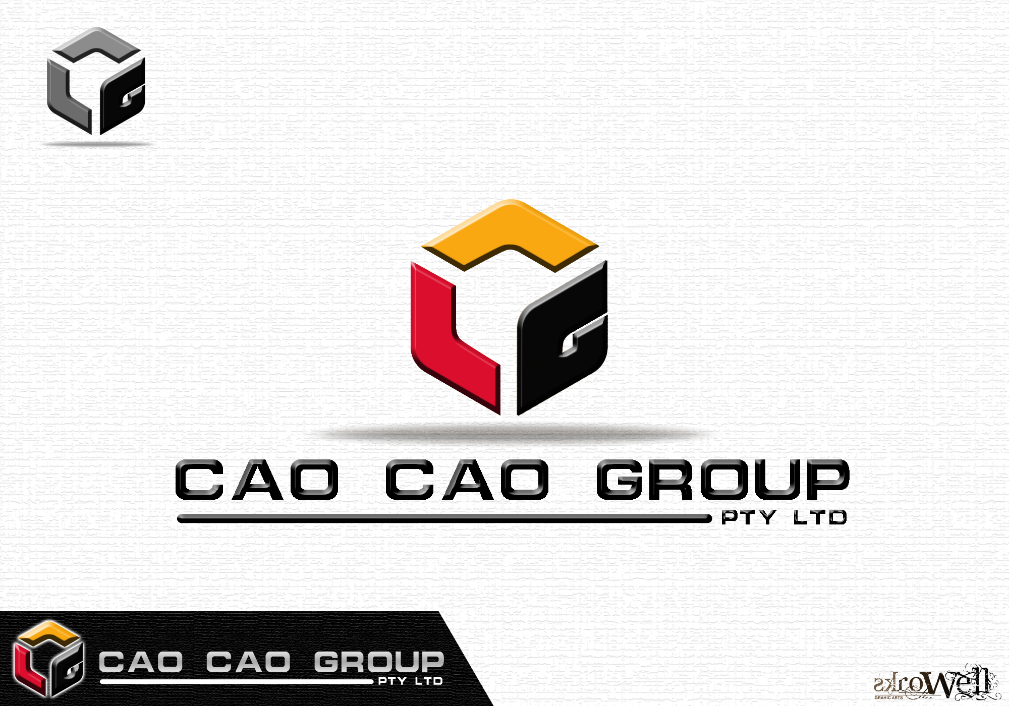 Logo Design by Rowell - Entry No. 113 in the Logo Design Contest cao cao group pty ltd Logo Design.