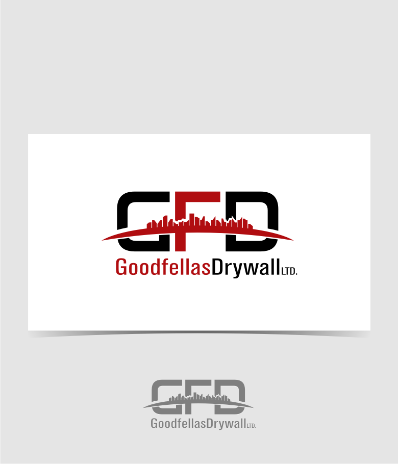 Logo Design by graphicleaf - Entry No. 180 in the Logo Design Contest Creative Logo Design for Goodfellas Drywall.