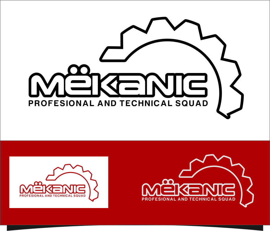 Logo Design by Ngepet_art - Entry No. 110 in the Logo Design Contest Creative Logo Design for MËKANIC - Professional and technical squad.